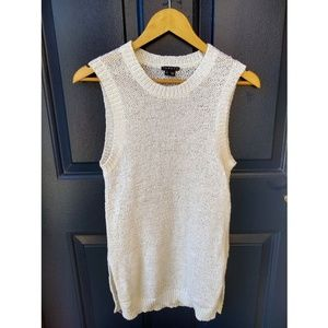 Theory | knitted sleeveless sweater top size p/tp